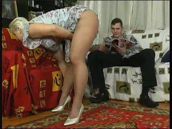 Порно секс с русскими тещами